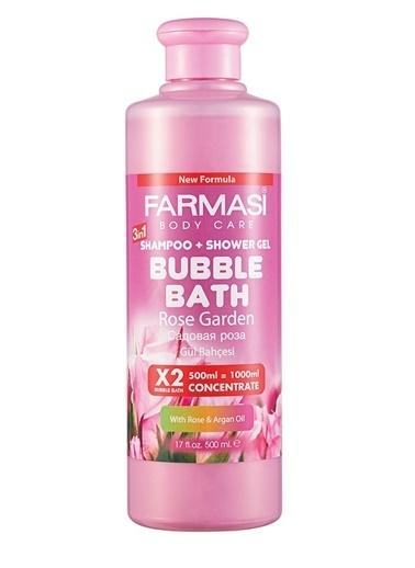 Farmasi Bubble Bath Gül Özü Ve Argan Yağı-500Ml Renksiz